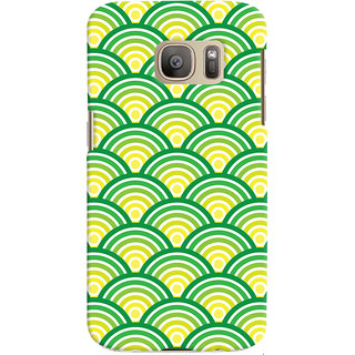 ColourCrust Samsung Galaxy S7 Mobile Phone Back Cover With Pattern Style - Durable Matte Finish Hard Plastic Slim Case