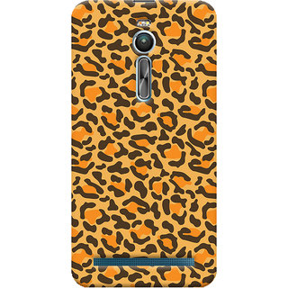 ColourCrust Asus Zenfone 2 ZE550ML Mobile Phone Back Cover With Animal Print - Durable Matte Finish Hard Plastic Slim Case