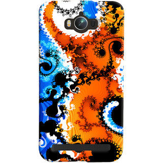 ColourCrust Asus Zenfone Max ZC550KL Mobile Phone Back Cover With Colourful Art Pattern Style - Durable Matte Finish Hard Plastic Slim Case