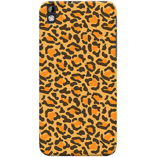ColourCrust HTC Desire 816 Mobile Phone Back Cover With Animal Print - Durable Matte Finish Hard Plastic Slim Case