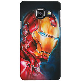 ColourCrust Samsung Galaxy A3 A310 (2016 Edition) Mobile Phone Back Cover With Iron Man - Durable Matte Finish Hard Plastic Slim Case
