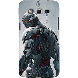 ColourCrust Samsung Galaxy Grand 2 G7106 Mobile Phone Back Cover With Ultron Back - Durable Matte Finish Hard Plastic Slim Case
