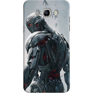 ColourCrust Samsung Galaxy J7 (2016) Mobile Phone Back Cover With Ultron Back - Durable Matte Finish Hard Plastic Slim Case