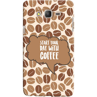 ColourCrust Samsung Galaxy ON5 Mobile Phone Back Cover With Coffee Beans Pattern Style - Durable Matte Finish Hard Plastic Slim Case