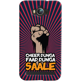 ColourCrust Asus Zenfone Max ZC550KL Mobile Phone Back Cover With Cheer Dunga Faad Dunga Quirky - Durable Matte Finish Hard Plastic Slim Case