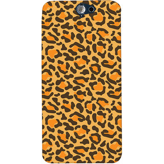 ColourCrust HTC One A9 Mobile Phone Back Cover With Animal Print - Durable Matte Finish Hard Plastic Slim Case