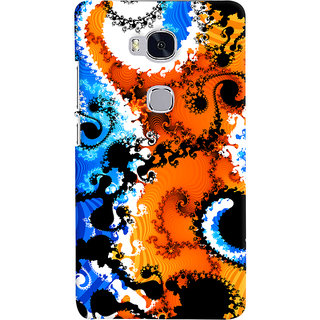 ColourCrust Huawei Honor 5X / Dual Sim Mobile Phone Back Cover With Colourful Art Pattern Style - Durable Matte Finish Hard Plastic Slim Case