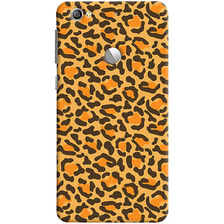 ColourCrust LeEco LE1S Mobile Phone Back Cover With Animal Print - Durable Matte Finish Hard Plastic Slim Case