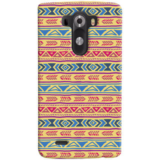 ColourCrust LG G3/ Optimus G3 Mobile Phone Back Cover With Indian Pattern - Durable Matte Finish Hard Plastic Slim Case