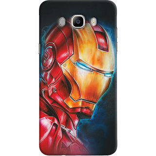 ColourCrust Samsung Galaxy J5 (2016) Mobile Phone Back Cover With Iron Man - Durable Matte Finish Hard Plastic Slim Case