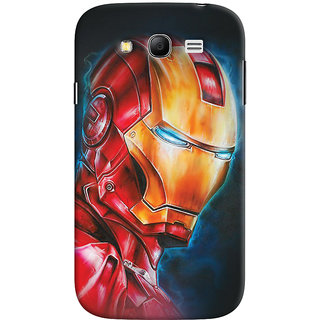 ColourCrust Samsung Galaxy Grand Neo / NEO GT Mobile Phone Back Cover With Iron Man - Durable Matte Finish Hard Plastic Slim Case