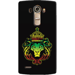 ColourCrust LG G4 H818N Mobile Phone Back Cover With Lion King - Durable Matte Finish Hard Plastic Slim Case