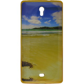 eloMo Printed Back Cover Case for Micromax Canvas Mega 2 Q426