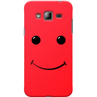 ColourCrust Samsung Galaxy J3 (2016) Mobile Phone Back Cover With Smiley Expressions Style - Durable Matte Finish Hard Plastic Slim Case