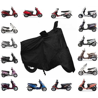 Universal Premium Quality Scooty Cover Black