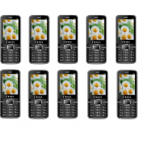 Combo Of 10 , K35 I Kall Dual Sim Multimedia Mobile Phone With FM Bluetooth