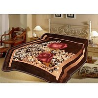 Sparkk Premium Double Bed Mink Blanket (Mblm10Minkdb3) - Assorted