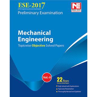 ESE 2017 Preliminary Exam  Mechanical Engineering Objective Paper - Volume II