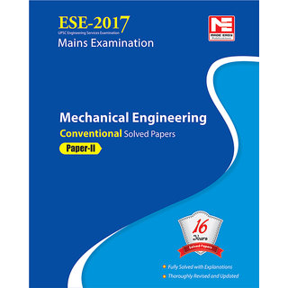 ESE 2017 Mains Examination Mechanical Engineering Conventional Paper - II