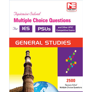 2500 MCQs  General Studies- Practice Book for ESE and PSUs