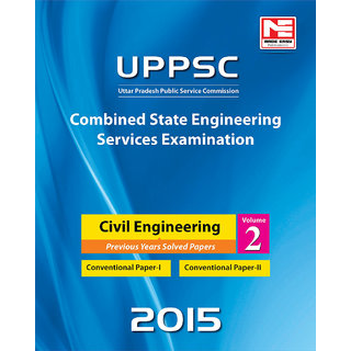 UPPSC Previous Years Solved Papers-  Civil Engg.  Volume-2