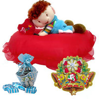 Christmas Gift With Soft Toy