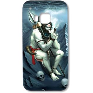 HTC One M9 Designer Hard-Plastic Phone Cover from Print Opera - Shivji Bholenath