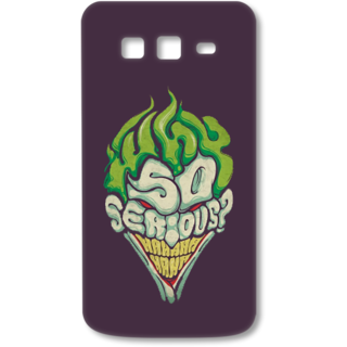SAMSUNG GALAXY Grand 2 Designer Hard-Plastic Phone Cover from Print Opera - So Serious
