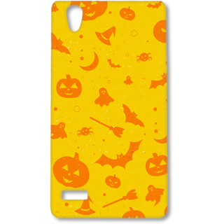 Oppo F1 Designer Hard-Plastic Phone Cover from Print Opera - Sign Of Halloween