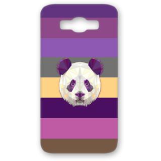 SAMSUNG GALAXY J7 Designer Hard-Plastic Phone Cover from Print Opera - Holographic Panda