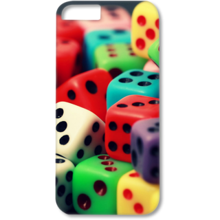 Iphone5-5s Designer Hard-Plastic Phone Cover from Print Opera - Multiples Dice