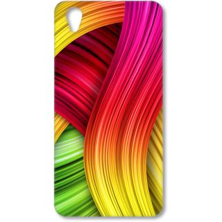 ONE PLUS X Designer Hard-Plastic Phone Cover from Print Opera - Coloured Design