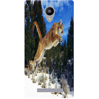 Amagav Printed Back Case Cover for Lyf Flame 5 183LfyFlame5