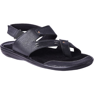 Andrew Scott Men's Black Sandal