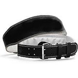 WEIGHT LIFTING PADDED LEATHER BELT PADDED BACK SUPPORT