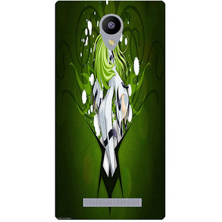 Amagav Printed Back Case Cover for Lyf Flame 5 274LfyFlame5