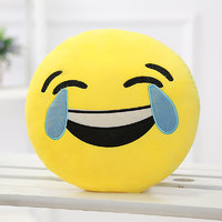 Tickles Whatsapp sofa Smiley Laught to tear Cushion plush