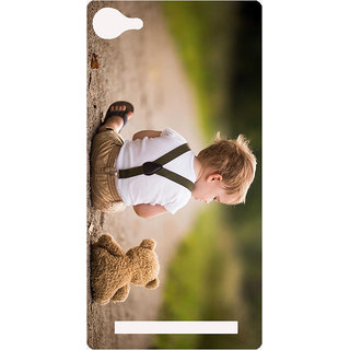Amagav Printed Back Case Cover for Lava A76 562LavaA76