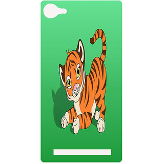Amagav Printed Back Case Cover for Lava A76 91LavaA76