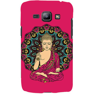 ColourCrust Lord Buddha Devotional Printed Designer Back Cover For Samsung Galaxy J1 (2016 Edition) Mobile Phone - Matte Finish Hard Plastic Slim Case