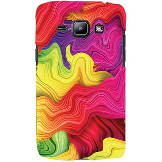 ColourCrust Colourful Pattern Style Printed Designer Back Cover For Samsung Galaxy J1 (2016 Edition) Mobile Phone - Matte Finish Hard Plastic Slim Case