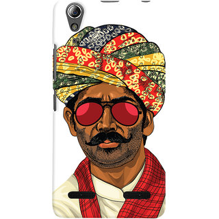ColourCrust Desi Swag Quirky Printed Designer Back Cover For Lenovo A6000 Plus Mobile Phone - Matte Finish Hard Plastic Slim Case
