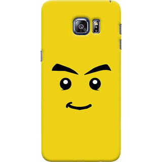 ColourCrust Sarcastic Smiley Quirky Printed Designer Back Cover For Samsung Galaxy S6 Edge Mobile Phone - Matte Finish Hard Plastic Slim Case