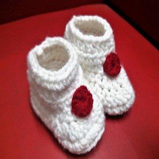 Woollen Baby boots