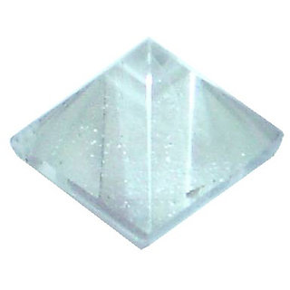 Sphatik Crystal Pyramid