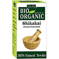 Indus Valley BIO Organic Shikakai Powder (100 Natural)