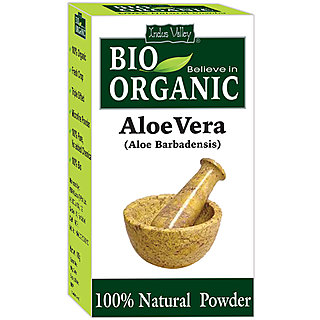 Indus Valley BIO Organic Aloe vera Powder (100 Natural)