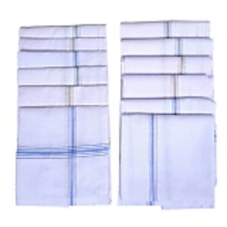 Mens Handkerchief Pack Of 12 By 7Star
