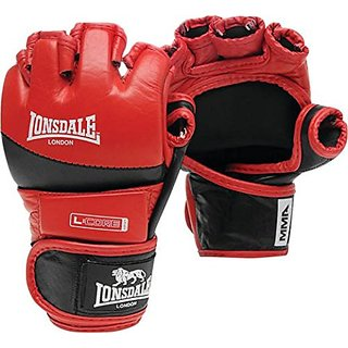 Lonsdale Amateur Mma Fight Gloves Red
