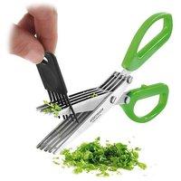 5 blade Herbs Scissor for Kitchen